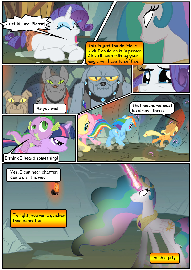 Anon Mlp Comic my little pony: friendship is betrayal | page 34